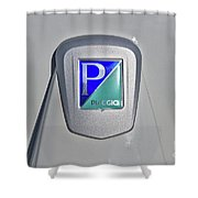 Piaggio Cycles Shower Curtain