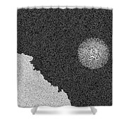 Piana's Calanches And Sun Shower Curtain