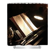 Piano Bar Shower Curtain