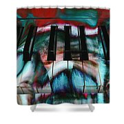 Piano Colors Shower Curtain