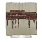 Piano Forte Shower Curtain