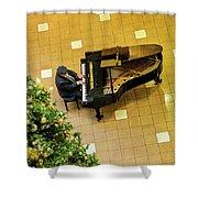 Piano Man Shower Curtain