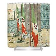 Piazza Di San Marco Shower Curtain