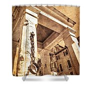 Piazza Erbe Shower Curtain