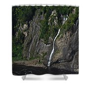 Little Falls Of Montmorency Shower Curtain