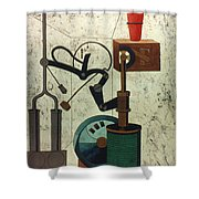 Picabia: Parade Shower Curtain