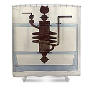 Picabia: Paroxyme, 1915 Shower Curtain