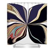 Picasso Get Your Brush Off My Canvas Shower Curtain