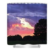 Picasso Sunset Shower Curtain