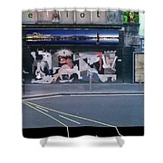 Picasso's Guernica In Glasgow, Scotland Shower Curtain