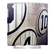 Pick A Number Shower Curtain