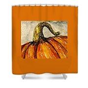 Pick A Pumpkin Shower Curtain