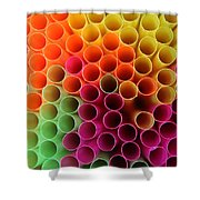 Pick A Straw Shower Curtain