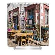 Pick A Table Shower Curtain