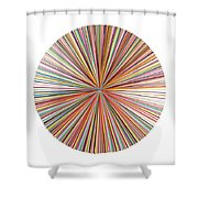 Pick-up-stix Shower Curtain