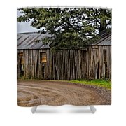 Pickers Huts Shower Curtain