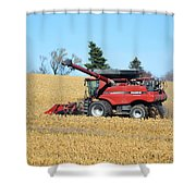 Picking Corn Shower Curtain