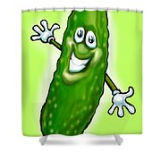 Pickle Shower Curtain
