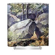 Pickle Springs State Park Shower Curtain