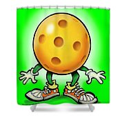Pickleball Shower Curtain