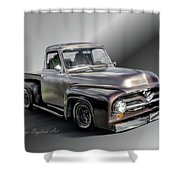 Pickup Named Penny Shower Curtain