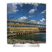 Pickwick Landing Dam Pickwick, Tennessee Shower Curtain