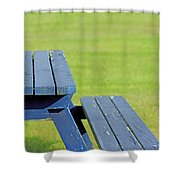 Picnic Tables Shower Curtain