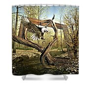 Picture Of Nature Shower Curtain
