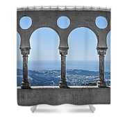 Picture On The Wall Shower Curtain