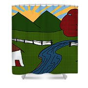 Picture Perfect Shower Curtain