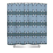 Picture Putty Puzzle 15 Shower Curtain