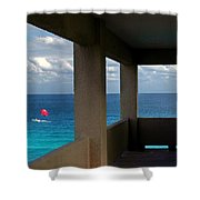Picture Windows Shower Curtain