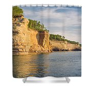 Pictured Rock Shower Curtain