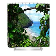 Picturesque Hawaii  Shower Curtain