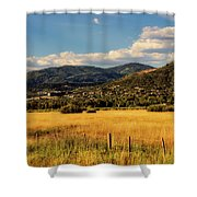 Picturesque View Of Steamboat Springs Colorado Shower Curtain