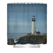 Pidgeon Point Lighthouse Shower Curtain