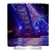 Piece Bridge Shower Curtain