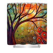 Piece Of Eden Shower Curtain
