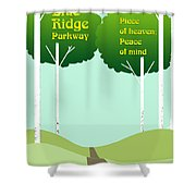 Piece Of Heaven Peace Of Mind Shower Curtain
