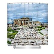 Acropolis - Pieces Of The Puzzle Shower Curtain
