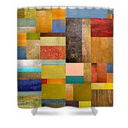 Pieces Project Lll Shower Curtain