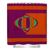 Pied Piper Design Shower Curtain