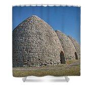Piedmont Kilns Shower Curtain