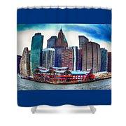 Pier 17 Ny Ny Shower Curtain