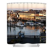Pier 39 In The Sunshine Shower Curtain