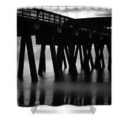 Pier Abstract Shower Curtain
