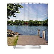 Pier At Kimberly Point Shower Curtain