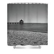 Pier At Lake Pontchartrain Shower Curtain