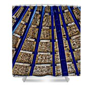 Pier Ceiling Shower Curtain