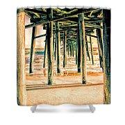 Pier Crisscross Shower Curtain